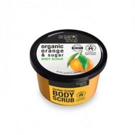 Cukrowy peeling Sycylijska Pomarańcza Organic Shop
