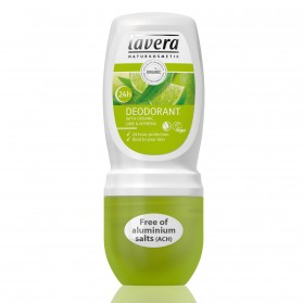 Dezodorant roll-on LIME SENSATION z bio-limonką Lavera
