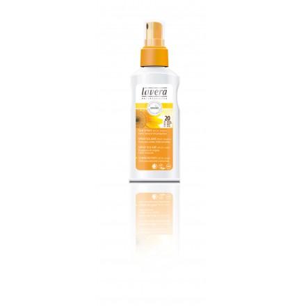 Spray do opalania SPF 20 z bio-nagietkiem Lavera