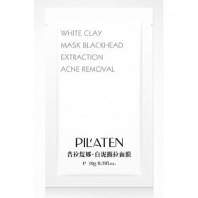 Oczyszczająca maska z białą glinką Pilaten saszetka