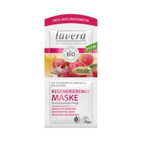 Maska regenerująca z bio-żurawina, bio-olej arganowy, bio-oliwa z oliwek Lavera