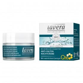 Krem przeciwzmarszczkowy na noc z koenzymem Q10 Lavera