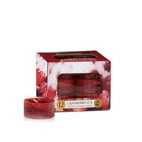 Cranberry Ice Tealight