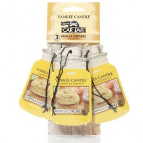 Vanilla Cupcake car jar 3-Pack