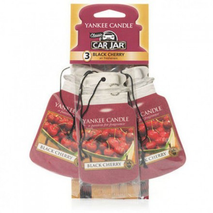 Car jar 3-Pack Black Cherry