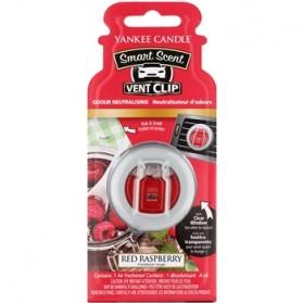 Red Raspberry car vent clip