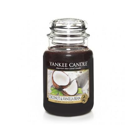 Coconut & Vanilla Bean słoik duży