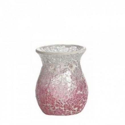 Kominek do wosków Pink Fade Crackle