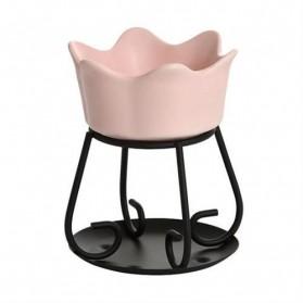 Kominek do wosków Petal Bowl różowy