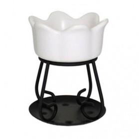 Kominek do wosków Petal Bowl biały