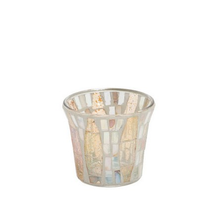 Świecznik na sampler Gold Wave Mosaic