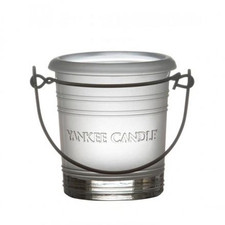 Świecznik na sampler Bucket oszroniony