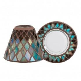 Klosz mały z talerzem Autumn Mosaic