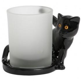 Świecznik na sampler Black Cat