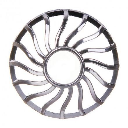 Nakładka na słoik Curve Gun Metal