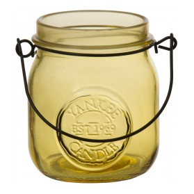 Świecznik na sampler Jam Jar żółty