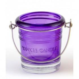 Świecznik na sampler Bucket fioletowy