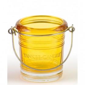 Świecznik na sampler Bucket żółty