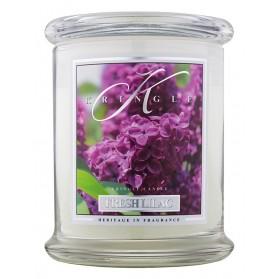 Fresh Lilac średni słoik z 2 knotami
