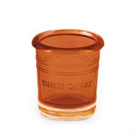 Świecznik na sampler Bucket Orange Splas