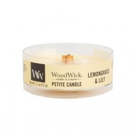 Lemongrass&Lily świeca petite WoodWick
