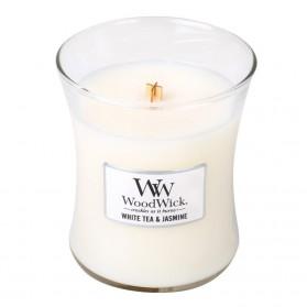 White Tea & Jasmine świeca średnia WoodWick