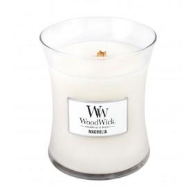 Magnolia świeca średnia WoodWick