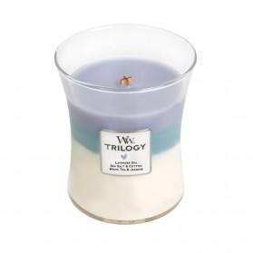 Calming Retreat świeca średnia Trillogy WoodWick