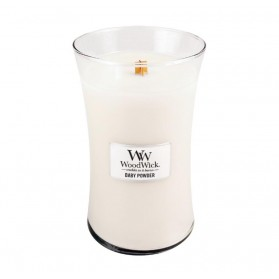 Baby Powder świeca duża WoodWick