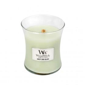 Sweet Lime Gelato świeca średnia WoodWick