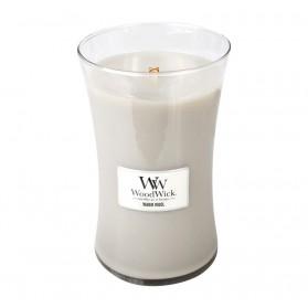 Warm Wool świeca duża WoodWick