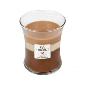 Spiced Confections świeca średnia Trillogy WoodWick