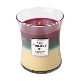 Christmas Classic świeca średnia Trillogy WoodWick
