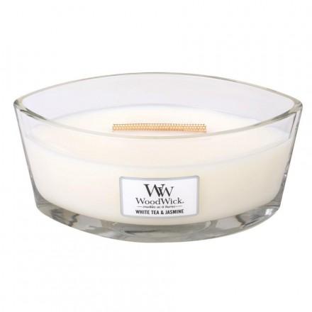 Hearthwick - White & Jasmine WoodWick