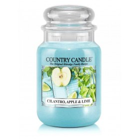 Cilantro, Apple & Lime słoik duży Country Candle