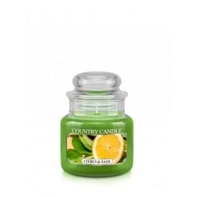 Citrus & Sage słoik mały Country Candle