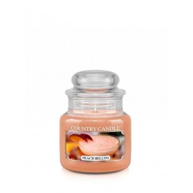 Peach Bellini słoik mały Country Candle
