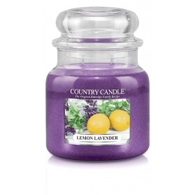 Lemon Lavender słoik średni Country Candle