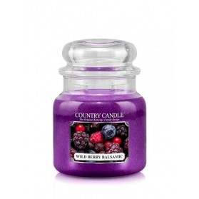 Wild Berry Balsamic słoik średni Country Candle