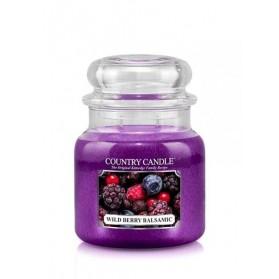 Wild Berry Balsamic słoik średni Country Candle