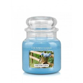 Country Love słoik średni Country Candle