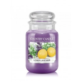 Lemon Lavender słoik duży Country Candle