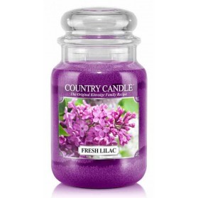 Fresh Lilac słoik duży Country Candle
