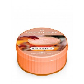 Peach Bellini Daylight Country Candle