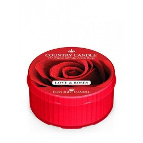 Daylight Love & Roses Country Candle