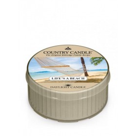 Lifes A Beach Daylight Country Candle