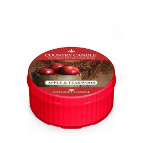Apple & Teakwood Daylight Country Candle