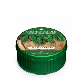 Balsam & Cedar Daylight Country Candle