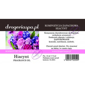 Olejek zapachowy Hiacynt 12ml
