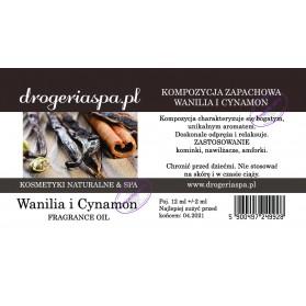 Olejek zapachowy Wanilia i Cynamon 12ml
